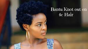 mid length tapered 4c hair how to bantu knot out on 4c natural tapered hair youtube
