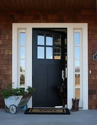 Exterior Door With Window I Like The Layout Solid Front Door With Windows Either Side