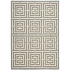3 X 5 Indoor Outdoor Rugs Safavieh Poolside Grey Indoor Outdoor Rug 5 3