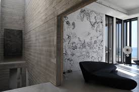 interior concrete walls concrete walls striking oceanfront house in jbeil lebanon