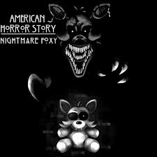 american horror story nightmare foxy letters me