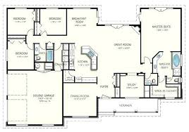 3 bedroom ranch floor plans 4 bedroom ranch house plans free modular home floor plans clever 4