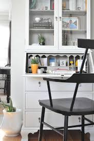 just so lovely a secretary desk makeover