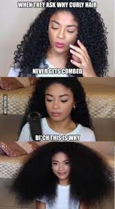 true hair you don t realize how true this actually is i to brush my