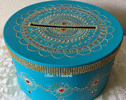 Indian Wedding Card Box Indian Card Box Etsy