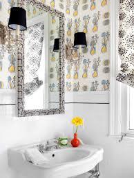 Bathroom Small Bathroom Wallpaper For Rooms Viewer Hgtv