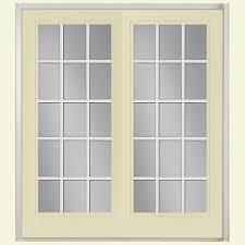 59 x 80 french patio door patio doors exterior doors the 60 in x 80 in golden haystack prehung left hand inswing 15