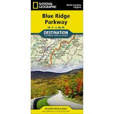 Wintergreen Map Blue Ridge Parkway Destination Map National Geographic Store