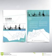 desien business cover page vector template stock vector image 85323981