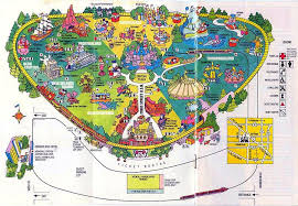 printable map disneyland paris park image disneyland 1980 map jpg disney wiki fandom powered by wikia