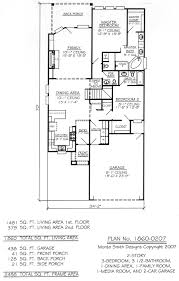 2 car garage sq ft 1860 0207 3 bedroom 2 story house plan