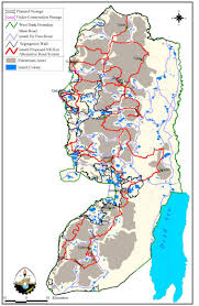 West Bank Map Israel Inflicts Collective Punishment Against 3 Million