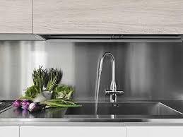 kitchen backsplash panel metal backsplash brushed metal kitchen hardware and hardware