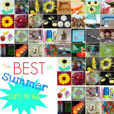 33 art crafts for kids summer activities for kids to do