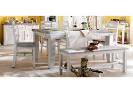 Wohnzimmertisch Und Esstisch In Einem Esstisch 140 X 90 Cm Ausziehbar Kiefer Weiss White Sanded Massiv