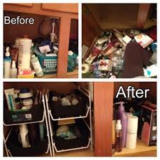 How To Organize Under Your Bathroom Sink - 20 best organize bathroom cabinets images on pinterest organize