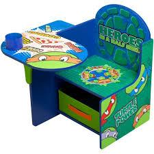 desk chair with storage bin nickelodeon teenage mutant ninja turtles desk chair with storage