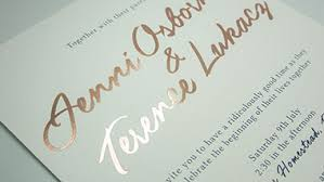 wedding invitations adelaide quality custom embossed wedding invitations foil sted premium