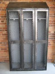 vintage metal lockers would be awesome for a coat closet