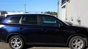 2000 Mitsubishi Outlander 2014 Mitsubishi Outlander Zj My14 5 Es 4wd Blue 6 Speed Constant