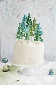 best pine tree cake recipe how to make christmas tree cake