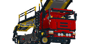 car carrier truck lego ideas car carrier