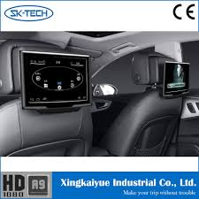 lexus rx330 best year best quality 10 1inch car back seat lcd headrest monitor with 12v
