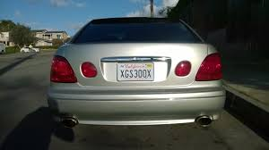 lexus is300 jdm tail lights painted my taillights using red vht night shades clublexus