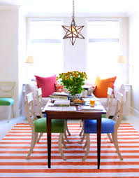 Acrylic Dining Room Tables by Furniture Delectable Colorful Dining Room Table Photo Color