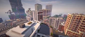 minecraft halloween city los santos meets minecraft as somebody recreates gta 5 map to scale