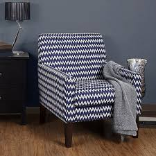 Chevron Accent Chair Novogratz Chevron Accent Chair Walmart