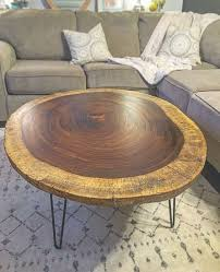 live edge round table buy a handmade live edge round acacia coffee table made to order