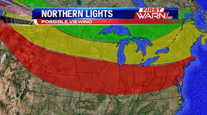 places you can see the northern lights first warn weather team possible northern lights viewing