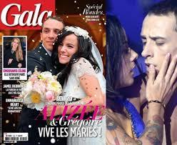 mariage alizee alizée et grégoire leur mariage en corse sur gala story au
