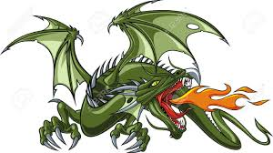 chinese dragon clipart fierce dragon pencil and in color chinese