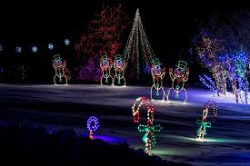 yogi bear christmas lights home illumination light show