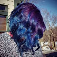 weave hairstyles with purple tips 40 blue ombre hair ideas hairstyles update