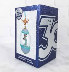 disney store 30th anniversary snowglobe ornament subscription