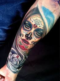 4 latest day of the dead tattoos