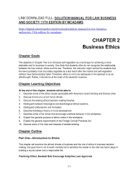 solution manual for law business and society 11th edition by