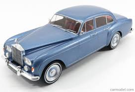 rolls royce light blue mcg mcg18057 scale 1 18 rolls royce silver cloud iii flying spur