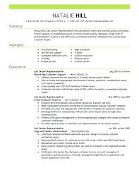 resume call center resume examples call center sample resume with