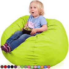 amazon com oversized bean bag chair in spicy lime machine
