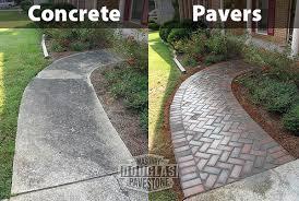 Concrete Patio Pavers Patio Pavers Concrete Advantages Douglas Masonry Pavestone