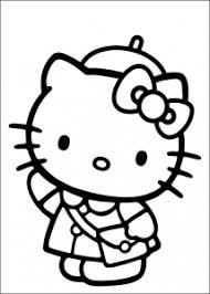 Coloriages Hello kitty  Coloriages enfants Biboon