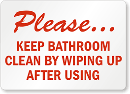 keep the bathroom clean toilet bathroom cleanliness keep bathroom clean by wiping