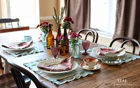 western horse ranch inspired fall table
