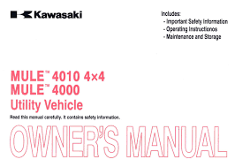 kawasaki kaf620m p mule 4010 owners manual