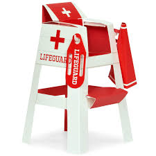 splashin u0027 pool party lifeguard chair placecard holder tabletop
