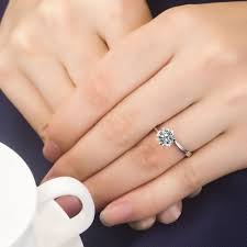 snowflake engagement ring aliexpress buy 1ct snowflake ring for women engagement